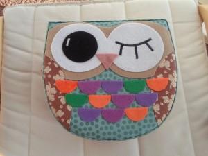 Owl sewing box