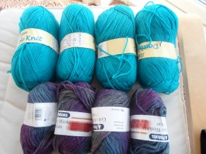 Addition to the yarn stash