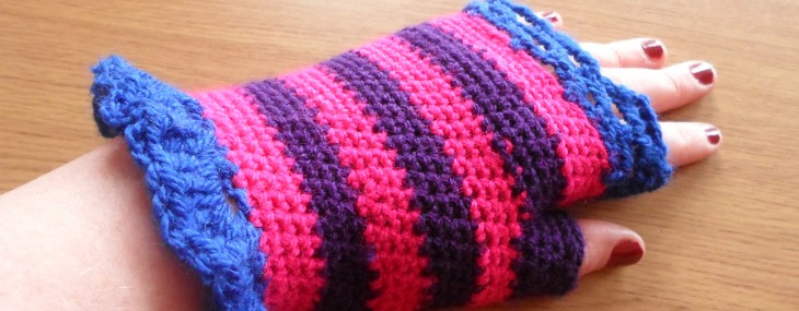 Crochet: Hat, Scarf and Wrist Warmers