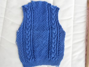 cable cardi back