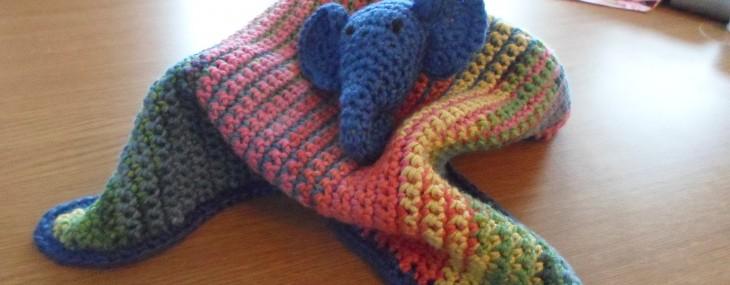 Coach Crochet: Elephant Comfort Blanket