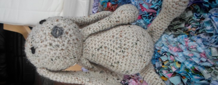 Train Crochet – Oatmeal Bunny