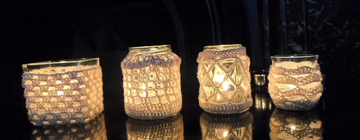 Crochet Tea Light Holders