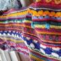 Pic 'n mix crochet blanket